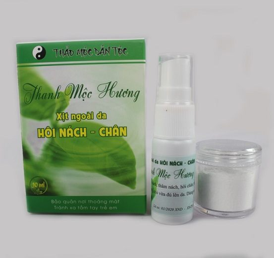 Xịt Hôi Nách Hôi Chân Thanh Mộc Hương